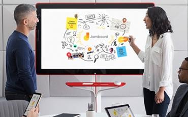 Jamboard pizarra digital para equipos creativos