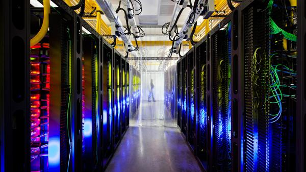 infraestructura cloud - centros de datos google eficientes