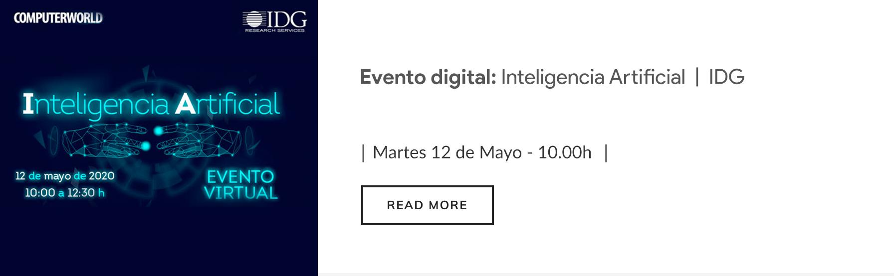 Evento IDG 12 de mayo
