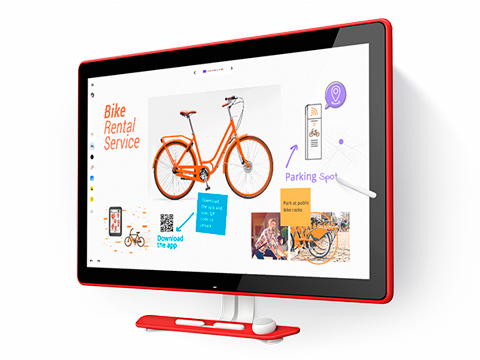 Pizarra digital Jamboard para equipos colaborativoss