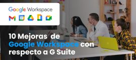 Novedades de Google Workspace